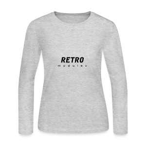 Retro Modules - sans frame - Women's Long Sleeve Jersey T-Shirt