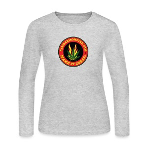 Make Cannabis Legal Cannabis Tshirts 420 wear - Women's Long Sleeve Jersey T-Shirt