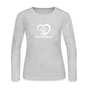 Hope Xchange Logo T-Shirts - Women's Long Sleeve Jersey T-Shirt