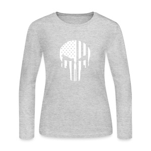 punisher - Women's Long Sleeve Jersey T-Shirt