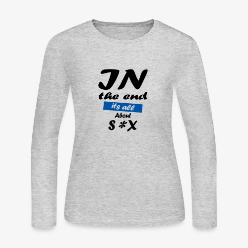 Typography - Women's Long Sleeve Jersey T-Shirt
