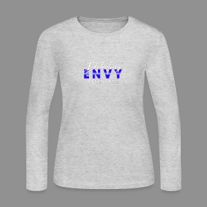 DETECTING ENVY TITLE - Women's Long Sleeve Jersey T-Shirt