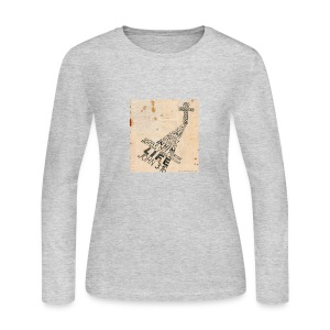 john3:16 - Women's Long Sleeve Jersey T-Shirt