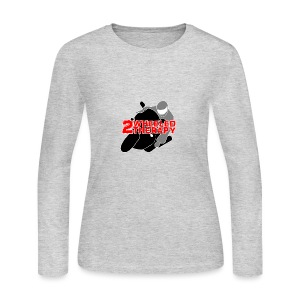 2 Wheeled Thereapy - Women's Long Sleeve Jersey T-Shirt