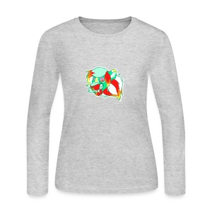 Psychedelic Lion - Women's Long Sleeve Jersey T-Shirt