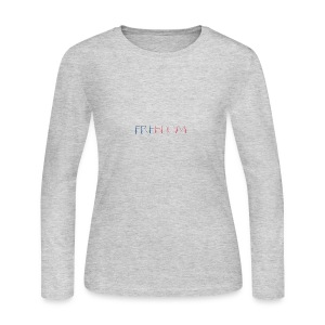 Freedom - Women's Long Sleeve Jersey T-Shirt