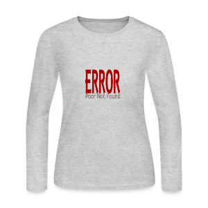 Oops There Is Something Missing! - Women's Long Sleeve Jersey T-Shirt