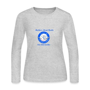 BarberShop Books - Women's Long Sleeve Jersey T-Shirt