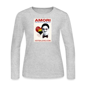 Amori for Mayor of Los Angeles eco friendly shirt - Women's Long Sleeve Jersey T-Shirt