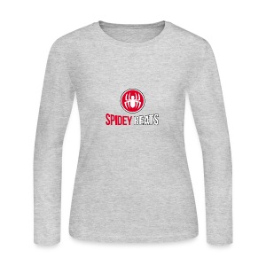 Spidey Beats - Women's Long Sleeve Jersey T-Shirt