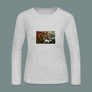 Tiger flo - Women's Long Sleeve Jersey T-Shirt