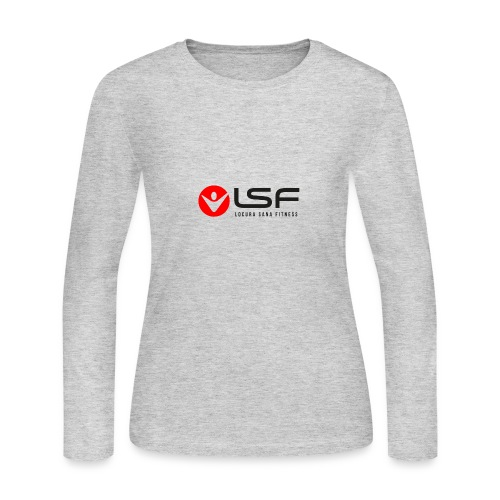 LSF Logo Black - Women's Long Sleeve Jersey T-Shirt