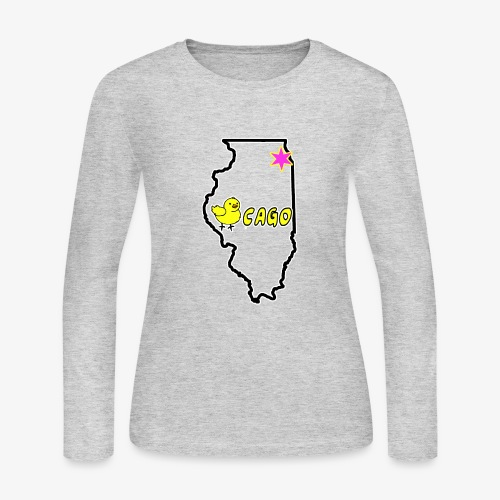 CHICKago Top - Women's Long Sleeve Jersey T-Shirt