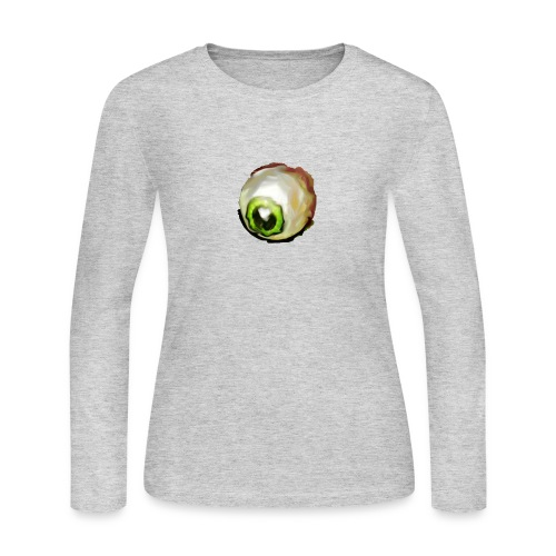 paranoid eyes - Women's Long Sleeve Jersey T-Shirt