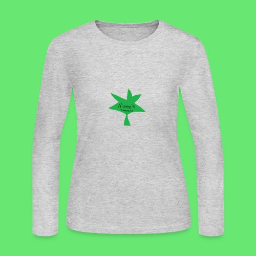 ESCLUSIVE!! 420 weed is coolio for kidlios SHIrT!1 - Women's Long Sleeve Jersey T-Shirt