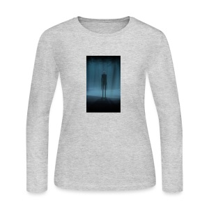 Creepy Forest Person - Women's Long Sleeve Jersey T-Shirt