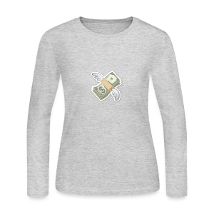 Money With Wings - Women's Long Sleeve Jersey T-Shirt