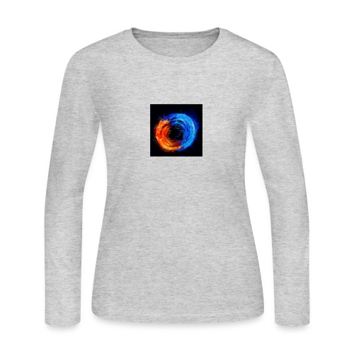 swirling fire and water 310265 - Women's Long Sleeve Jersey T-Shirt