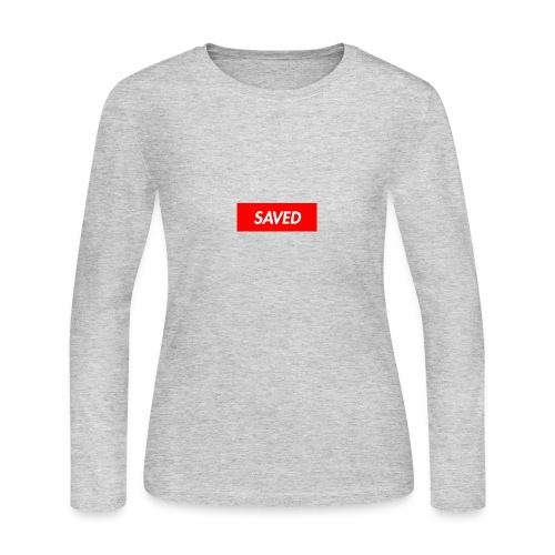 SAVED - Women's Long Sleeve Jersey T-Shirt