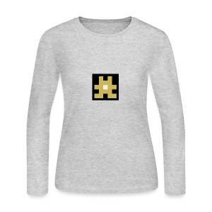YELLOW hashtag - Women's Long Sleeve Jersey T-Shirt