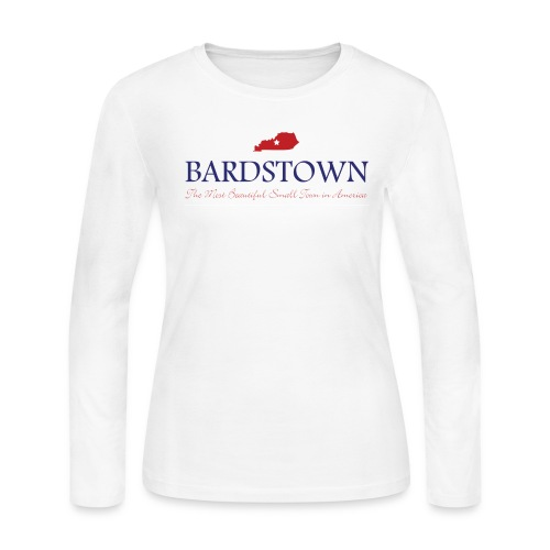Bardstown - Most Beautiful Small Town in America - Women's Long Sleeve Jersey T-Shirt