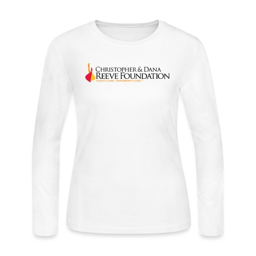 ReeveFoundation Logo - Women's Long Sleeve Jersey T-Shirt