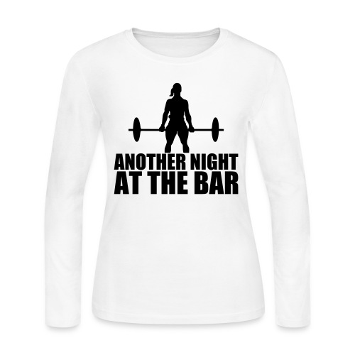 Another Night at the Bar - Women's Long Sleeve Jersey T-Shirt