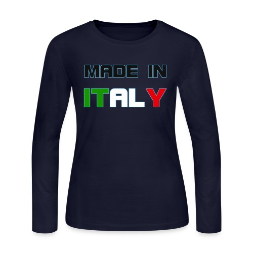 Made in Italy - Women's Long Sleeve Jersey T-Shirt