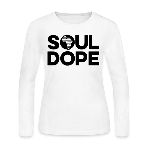 souldope Black Logo - Women's Long Sleeve Jersey T-Shirt