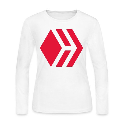 Hive logo - Women's Long Sleeve Jersey T-Shirt