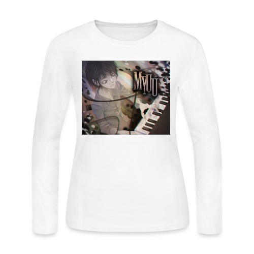 Dark Piano 1 - Women's Long Sleeve Jersey T-Shirt