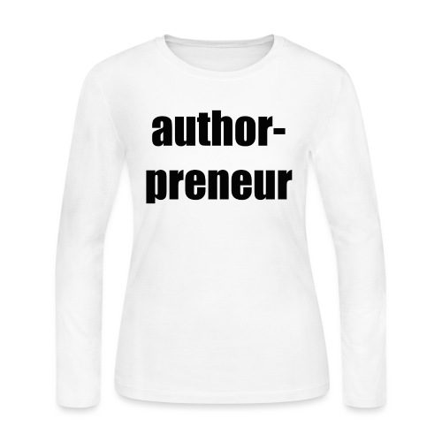 Author-preneur - Women's Long Sleeve Jersey T-Shirt
