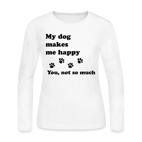 love dog 2 - Women's Long Sleeve Jersey T-Shirt