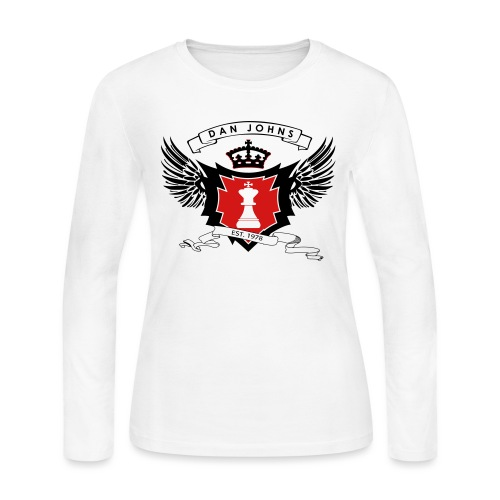 danjohnsawlogo - Women's Long Sleeve Jersey T-Shirt