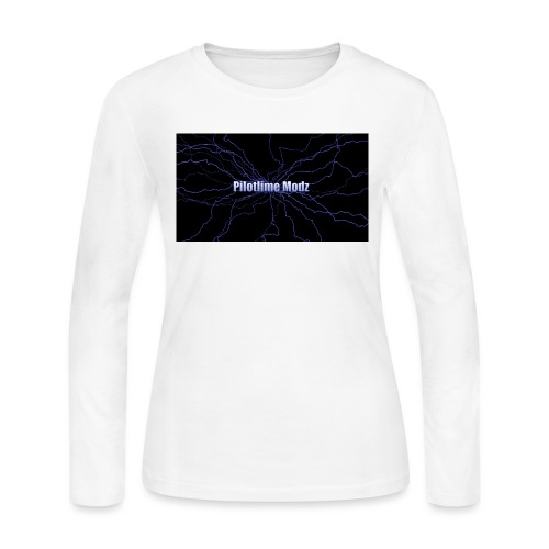 backgrounder - Women's Long Sleeve Jersey T-Shirt