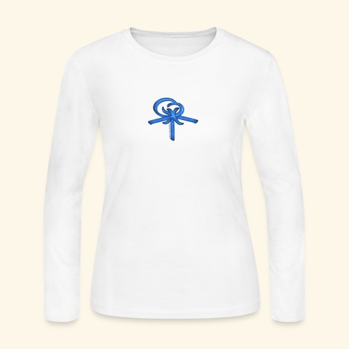 Back LOGO LOB - Women's Long Sleeve Jersey T-Shirt