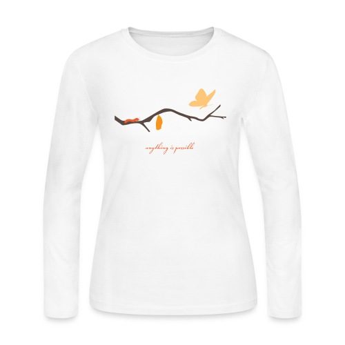 Anything is Possible - Women's Long Sleeve Jersey T-Shirt