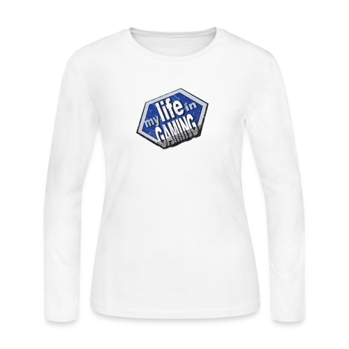 My Life In Gaming sticker - Women's Long Sleeve Jersey T-Shirt