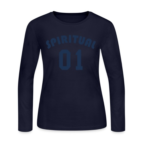 Spiritual One - Women's Long Sleeve Jersey T-Shirt
