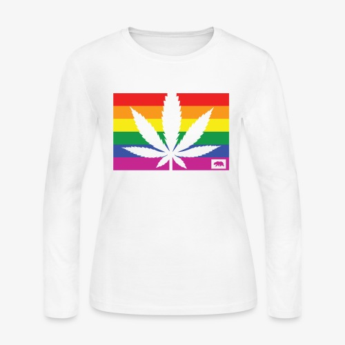 California Pride - Women's Long Sleeve Jersey T-Shirt
