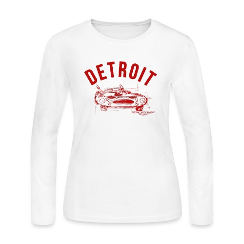 Detroit Art Project - Women's Long Sleeve Jersey T-Shirt
