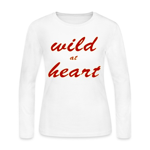 wild at heart - Women's Long Sleeve Jersey T-Shirt