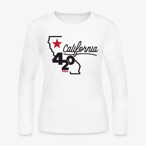California 420 - Women's Long Sleeve Jersey T-Shirt