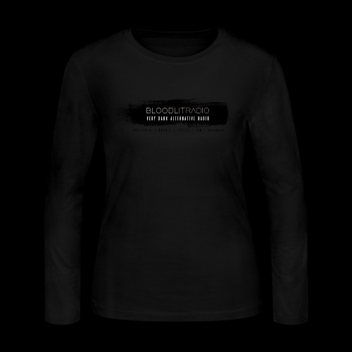 Bloodlit Radio 3 - Women's Long Sleeve Jersey T-Shirt