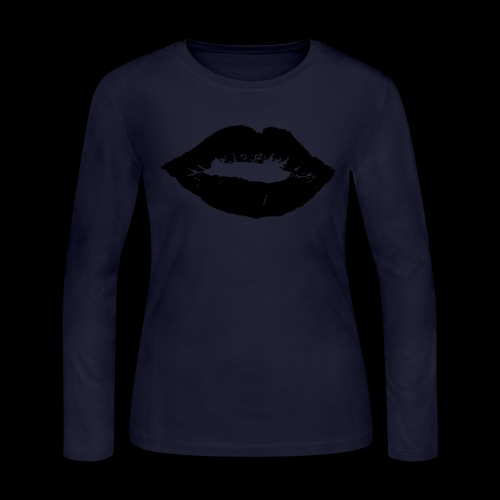 Sealed with a Kiss - Women's Long Sleeve Jersey T-Shirt