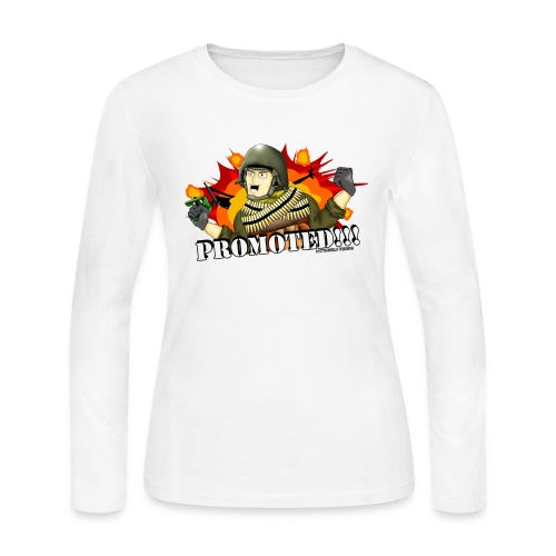 Promoted! Hank & Jed - Women's Long Sleeve Jersey T-Shirt