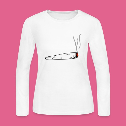 LIT WHITE BLACK GREY AND RED JOINT - Women's Long Sleeve Jersey T-Shirt