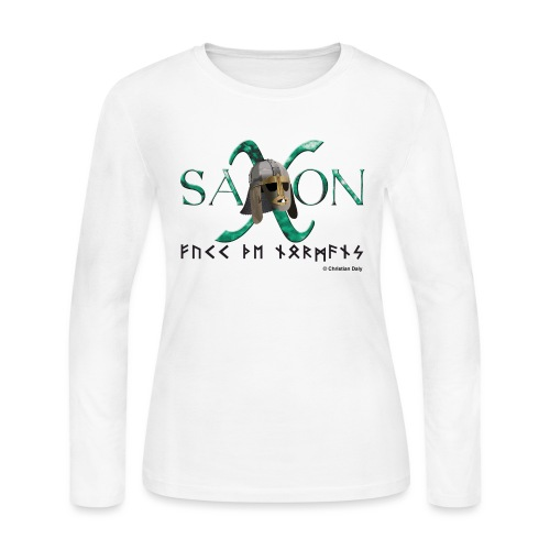Saxon Pride - Women's Long Sleeve Jersey T-Shirt