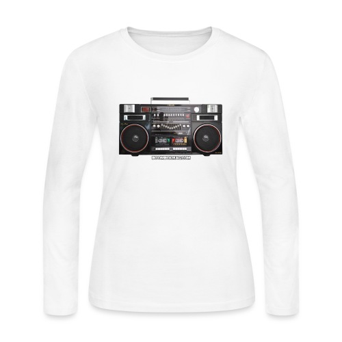 Helix HX 4700 Boombox Magazine T-Shirt - Women's Long Sleeve Jersey T-Shirt