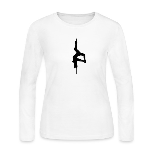 Inverted Pole Dancer - Women's Long Sleeve Jersey T-Shirt